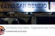 """Capodanno per famiglie con """"I Ridikulus"""" al Teatro San Genesio di Roma"""