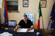 Il neo eletto Sindaco di Tarquinia Alessandro Giulivi presenta la nuova Giunta