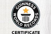 Sabato 27 Ottobre a Tarquinia per Giancarlo 'Jack Pepper' Gasparotto la consegna ufficiale del Certificato Guinness World Records