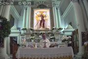 Il Cristo Risorto di Tarquinia rimarrà in diretta streaming H24 fino all'Ascensione