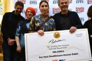 Melodika Sound Award was presented to Amber İşbilen, the director of the project SELDA by Taylan Oğuz