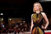 Il Premio Oscar Cate Blanchett incanta la platea della Festa del Cinema di Roma