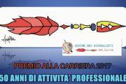 Ordine dei Giornalisti del Lazio. I Premi alla Carriera 2017 per 50 Anni di Attività Professionale