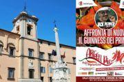 Giancarlo Gasparotto vola a Tarquinia per il Guinness dei Primati sostenuto dalla grande Pepper Family
