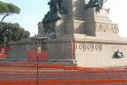 Preoccupazioni a Roma dell'Istituto Internazionale di Studi Giuseppe Garibaldi per la statua sul Gianicolo già colpita nel '44 da un altro fulmine