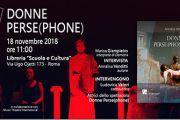 """A Roma la presentazione con l'autrice Annalisa Venditti di """"Donne Perse(phone)"""""""