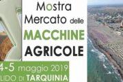 Il Vice Premier e Ministro dell'Interno Matteo Salvini inaugura la 70^ Mostra Mercato delle Macchine Agricole di Tarquinia