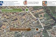 """Suggestiva proiezione immagini in 3D Tombe Etrusche su Mura Medioevali Tarquinia conclude """"Incontri d'autunno"""""""