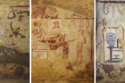 """Un patrimonio riconquistato quello de la """"Tomba dei Vasi Dipinti"""" di Tarquinia grazie a sinergie Italo-Danesi e l'uso di tecniche di restauro mai impiegate al mondo in campo archeologico"""