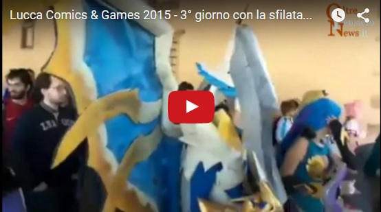 "Lucca Comics & Games 2015 - 3° giorno con la sfilata Cosplay League Of Legends e ""La Banda Bassotti"""