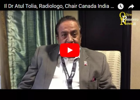 Il Dr Atul Tolia Radiologo Chair Canada India Foundation e supporter del TIFF