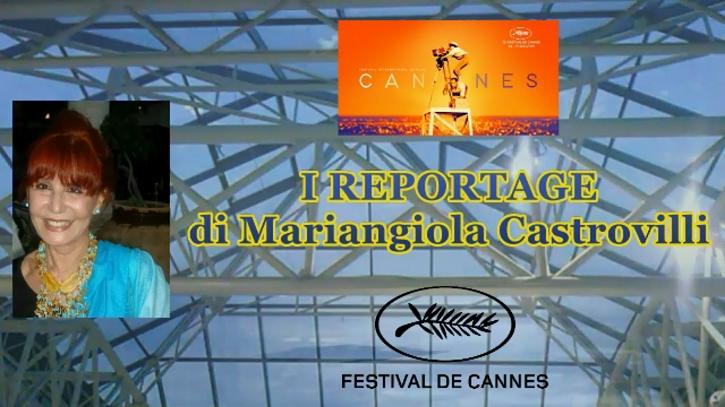 4d0cb4196742 Mariangiola Castrovilli . Reportage Festival de Can nes 2019