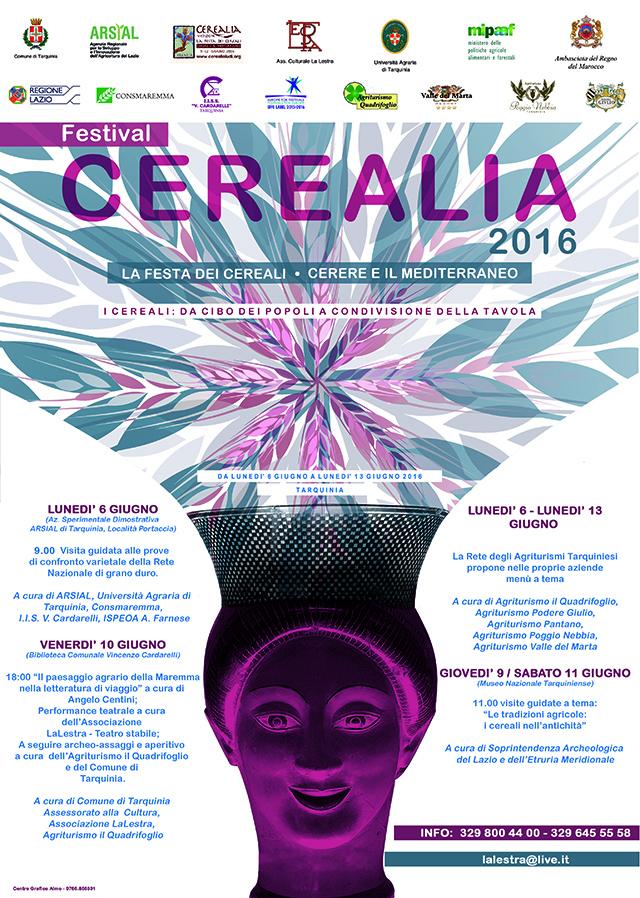Tarquinia (VT): Entra nel vivo il Festival Cerealia