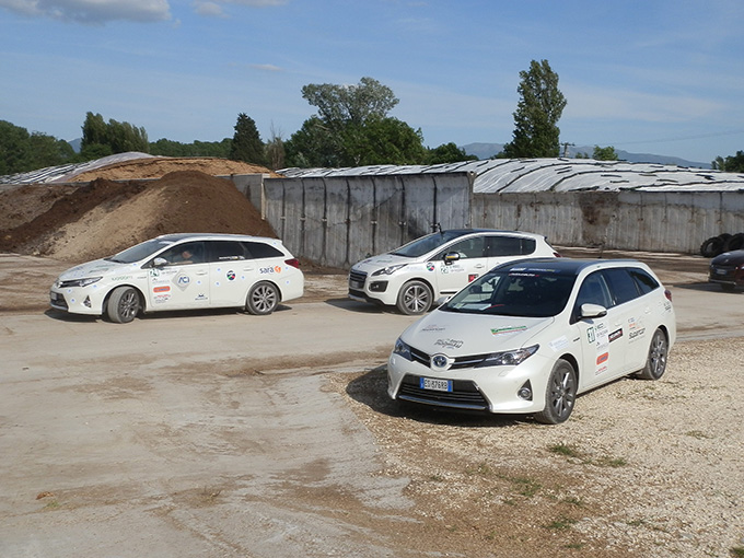 9 Ecorally Sosta allimpianto biogas